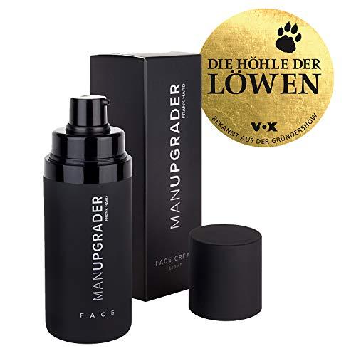 Manupgrader Face Cream Light - Pflege Für Männer Geschenke Geeignet Für Hellen Teint 30 ml Dein Begleiter Neben Duschgel Und Rasierer -