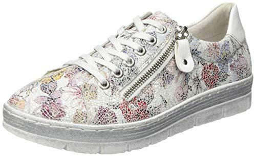 Remonte Damen D5800 Sneaker, Mehrfarbig (Ice-Multi/Bianco 93), 37 EU