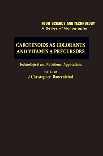 Carotenoids as Colorants and Vitamin A Precursors: Technological and Nutritional Applications (Food Science and Technology) (English Edition)