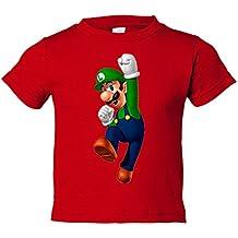 Camiseta niño Super Mario Luigi