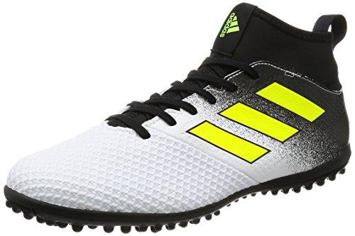 adidas Men's Ace Tango 17.3 Tf Footbal Shoes, Yellow (Footwear White/Solar Yellow/Core Black), 8 UK