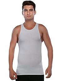 Clovia Mens Shaping Vest In Grey