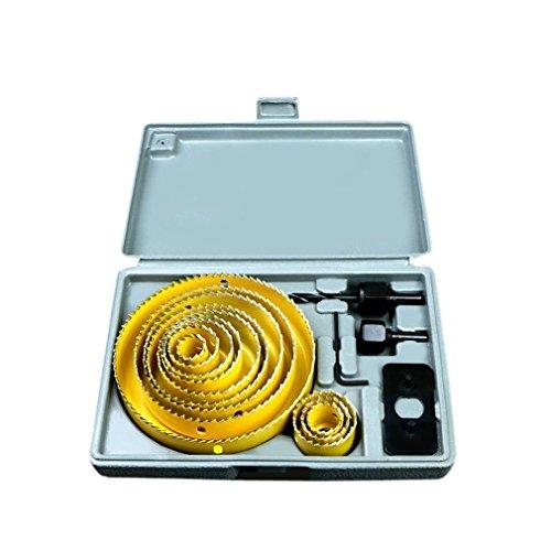 ChengYi 16pcs sierras brocas herramientas corte chapa