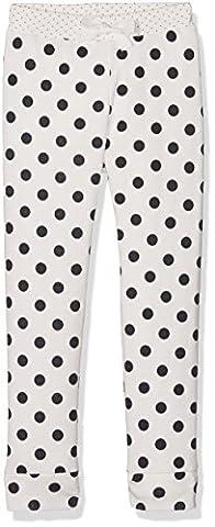 Petit Bateau Mädchen Schlafanzughose Pantalonnuit, Mehrfarbig (Lait/Smoking 88), 152 (Herstellergröße: 12ans/152cm)