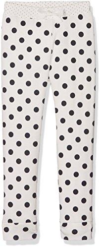 Petit Bateau Mädchen Schlafanzughose PANTALONNUIT, Mehrfarbig (Lait/Smoking 88), 128 (Herstellergröße: 8ans/128cm)
