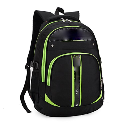 University Man Rucksack College Man Reise Rucksack,Green Green