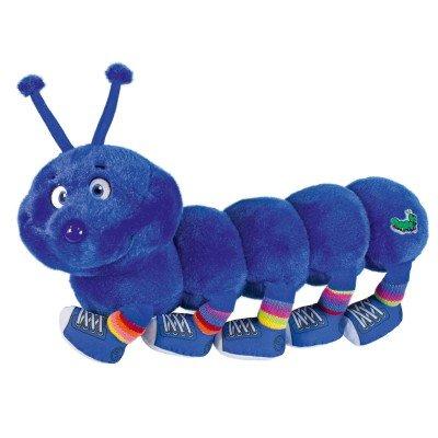 Peluche Mille Pa-pattttes 10 pattes bleu