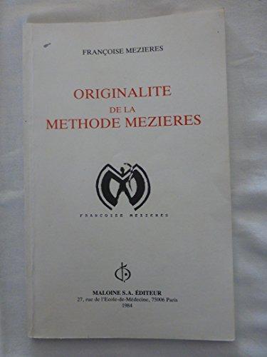 Originalité de la méthode Mézières