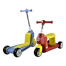 AIREL Trotinette 2 en 1 | Trotinette Enfant 3 Roues | Voiture D'équilibre, Tricycle | Trottinette Vélo sans Pédale