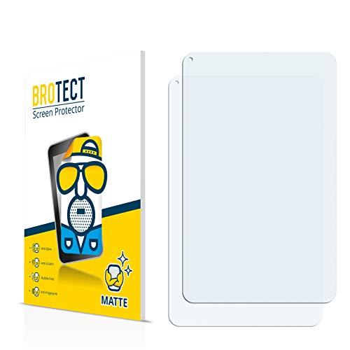 BROTECT Schutzfolie Matt für Wolder miTab Connect 10.1 Displayschutzfolie [2er Pack] - Anti-Reflex Displayfolie, Anti-Fingerprint, Anti-Kratzer