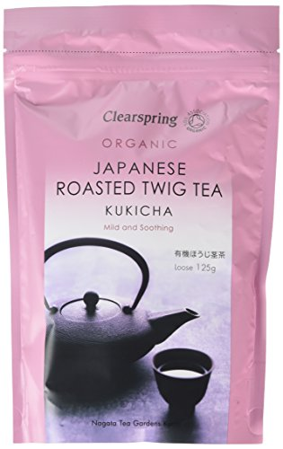 Clearspring Organic Kukicha Twig Loose Tea 125g (Pack of 3