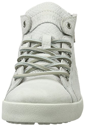 Blackstone Damen Nl36 High-Top Weiß (white)