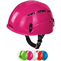 ALPIDEX Casco de Escalada Casco Argalí Kid Universal del Niño vías ferratas en Muchos Colores, Color:bramble Berry