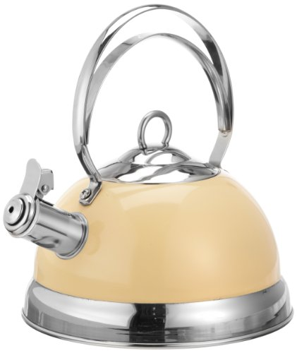 Wesco almond Stainless Steel Whistling Kettle