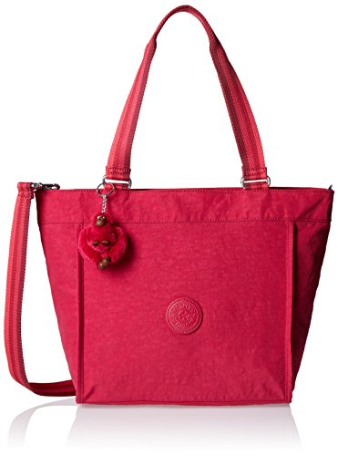 Kipling New Shopper S, Damen Tote, Pink (Cherry C), 42x27x13 cm (W x H x L)