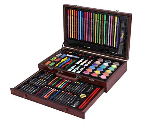 Wutongcancelleria per bambini set scatola regalo forniture per la scuola pennello pittura pittura strumenti scuola primaria penna acquerello premi d'arte