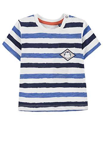 Tom Tailor Kids Baby Jungen Striped T Shirt Mehrfarbig Printed Stripe Multicolored 0009 Herstellergrosse 68