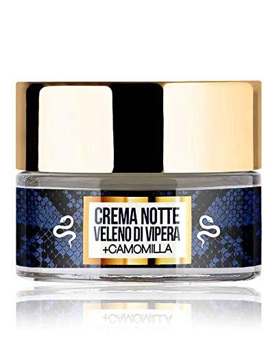 Wonder Night crema viso specifica per la Notte al Veleno di Vipera e Camomilla, antiage, antirughe, antiossidante, nutriente, levigante (50 ml) LR Wonder Company