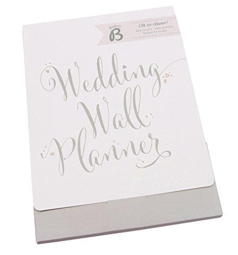 Busy B Planner da parete per matrimonio Bride To B