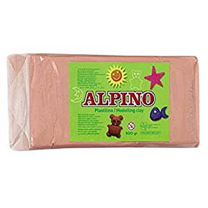 Alpino DP000077 – Plastilina, color carne