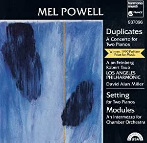 Powell : Duplicates / Setting / Modules