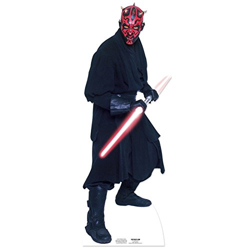 Star Cutouts - decoración Darth Maul Star Wars (SC516) [Importado de Inglaterra]