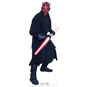 Star Cutouts - decoración Darth Maul Star Wars (SC516)  Importado de Inglaterra