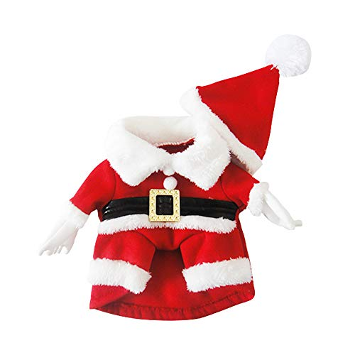 Kostüm Niedlichen Weihnachts Frauen - XGPT Hunde Kostüm Hund Kleidung Cartoon Red Cotton Kostüm Für Haustiere Männer Frauen Niedlichen Cosplay Weihnachten,XS