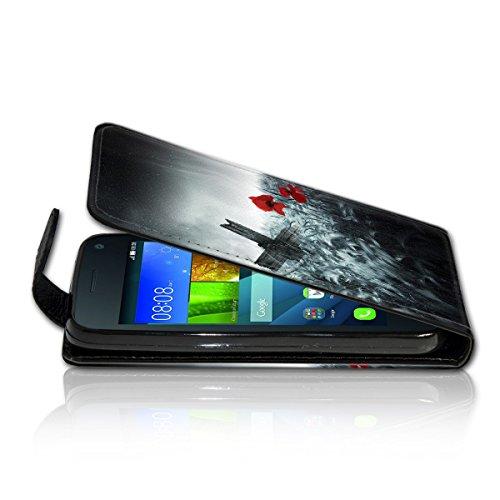 Vertical Flip Style Housse Case Étui Coque Motif cartes étui support pour Apple iPhone 6/6S–Variante ver38 Design 7