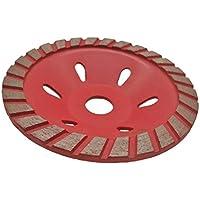 Muela abrasiva diamantada - Disco abrasivo en forma de tazón, Disco de corte en forma de disco, Adecuado para concreto, granito, terrazo y mármol, etc. (Size : 100mm)