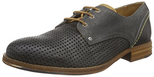 Yellow Cab Herren Rent M Derby Schwarz (Antracite)