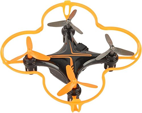 Baybee Lightning RC Quadcopter Drone 360 Degree Roll Over | USB Cable with Led Lights & Charger,Remote Control Drone (Orange)