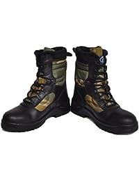 Allen Cooper AC1228_OLV_Size10 Combat Safety Boot, 10 UK, Olive