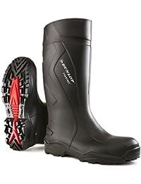 Dunlop DUNC762041-42 - Purofort más 8 plena seguridad de arranque wellington - negro