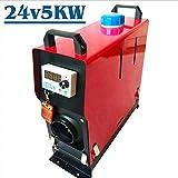Heizung für Auto, Diesel, Lufterhitzer, 5 kW, 12 V/24 V, für den letzten Schalter mit Schlüssel für den Bus, 41,5 x 39 x 15,3 cm
