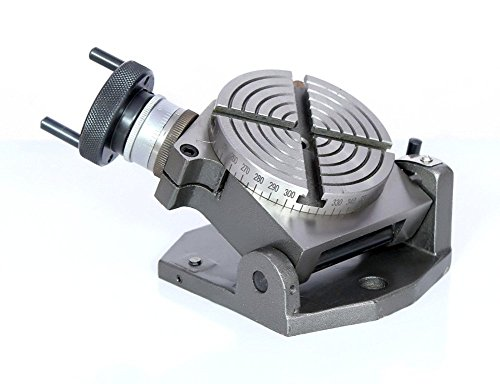 10,2cm (100mm) Horizontal Vertikal neigbar 0°-90° Rotary Tisch Fräsen, Werkzeug