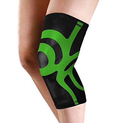 Ärmel Nackenband (Pull auf Kniebandage mit integriertem POWER BAND Kompression Taping, in 5Größen erhältlich)