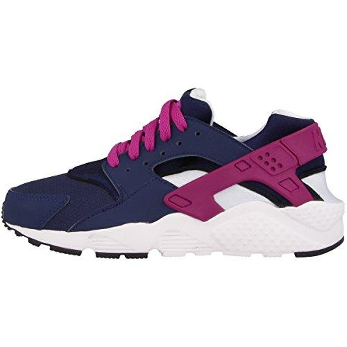 Nike 654280-404 Sportschuhe für Trail Running, Mädchen, Blau (Midnight Navy/Hyper Lila/Blaue Tint), 38.5 EU (5.5|#Adult UK Girls)