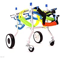 AYHa Dog Soller Dog Wheelchair/Pet Scooter/Disabled Hind Legs,*-Small