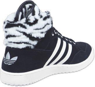 Basket Adidas Originals Pro Conference High - Ref. G96081 noir blanc