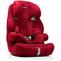 Bebé Due Ziti-Fix Isoclic - Sillita de coche, grupo 1-2-3, color rojo