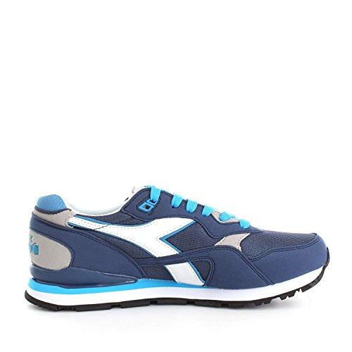 Diadora N-92, Sneaker a Collo Basso Unisex – Adulto Blue Aster
