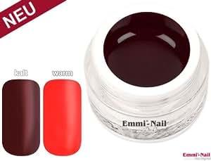Nail Art - Emmi-Nail Thermo Gel couleur cannelle Saveur - Coral étoile 5ml