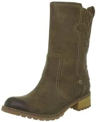 Timberland Ek Apley Mid Wp Boot 3256R, Damen Klassische Halbstiefel & Stiefeletten, Grün (Dark Olive), EU 37.5 (US 6.5)