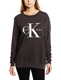 Calvin Klein Jeans J2IJ202091 - Sweat-shirt - Uni - Manches longues - Femme