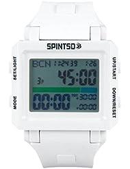 spintso Watch 2S Blanco Special Edition profesional Árbitro de reloj de pulsera