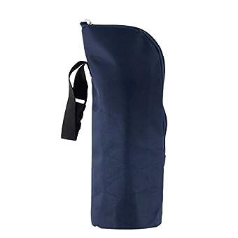 Gosear® Bébé Enfant Bouteille de Lait Poussette Warmers Hanging Sac Fourre-Tout Pochette de Rangement à Main Bleu Marine