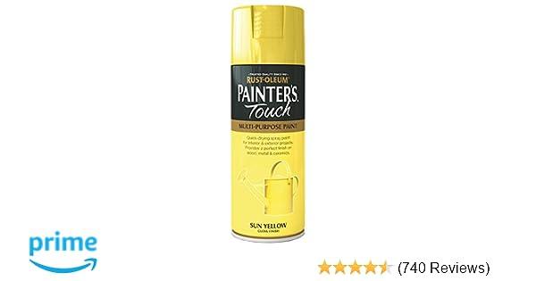 Rust-Oleum 400ml Painter's Touch Spray Paint - Sun Yellow Gloss