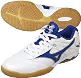 Mizuno Wave Drive 4 White/Blue/golden UK 12,0/EU 47,0