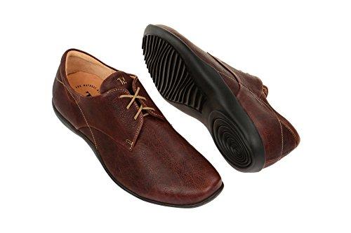 Think!  0-80927-50, Chaussures à lacets et coupe classique homme Marron